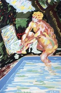 Susana en el baño 1